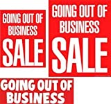Going out of Business - 14pc Big Format Sign Kit