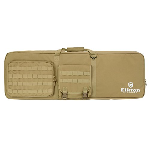 Elkton Outdoors Tactical Gun Shooting Bag With Built In Shoo
