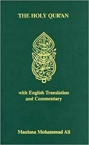 Book cover from The Holy Quran with English Translation and Commentary (English and Arabic Edition) by Gabriel Said Reynolds