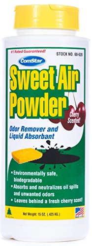 ComStar 60-620 Sweet Air Powder Odor Remover and Liquid Absorbent, 15 oz. Container , White