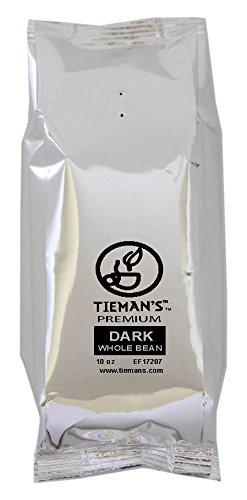 Tieman's Fusion Coffee, Low Acid Dark Roast, Whole Bean, 10-Ounce bag (30 Pack) by Tieman's Fusion Coffee