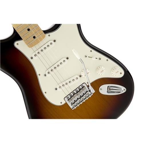 Fender Standard Stratocaster Electric Guitar - Maple Fingerboard, Brown Sunburst