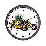 "CafePress - Heavy Equipment Grader Operator - Unique Decorative 10"" Wall Clock"