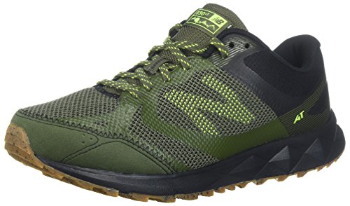 New Balance Men's 590v3 Running Shoe, Green/Black, 10.5 4E US