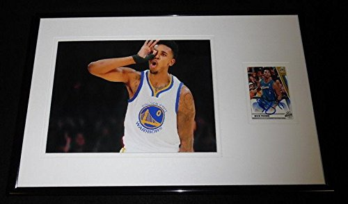 Nick Young Signed Photo - Framed 11x17 Display - Autographed NBA Photos