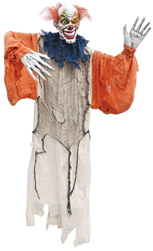 HANGING CREEPY CLOWN 60in for $<!--$32.49-->