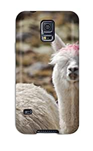 Tpu Fashionable Design Alpaca Rugged Case Cover For Galaxy S5 New