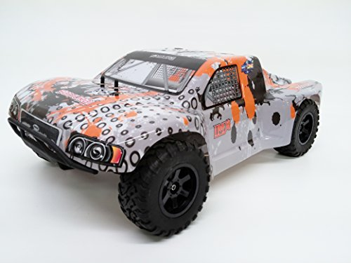 IMEX Samurai 1/10th Scale RTR 2.4GHz Brushless Short Course Truck (Orange) (Brushless 1 10 Scale Rc Truck)