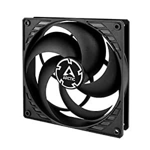 ARCTIC Standard Case Fan, Ultra Low Noise Cooler, Silent Cooler with Standard Case, Push- or Pull Configuration Possible Black 140 mm - P-Series