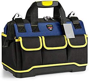 ツールキット 多機能の修復電気工事ツールキット缶ストアやツールを整理します ツールの保管と整理バッグ (色 : Black, Size : 40x23x25cm)