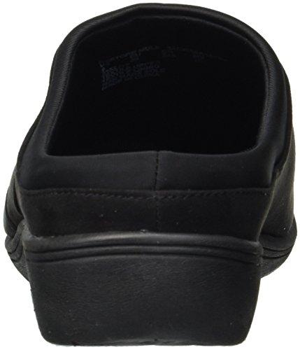 Sneaker Mule In Pelle Nera Per Donna