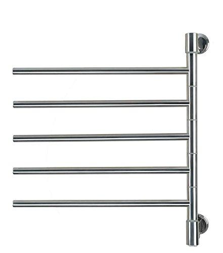 Amba Swivel Collection - Amba Swivel Plug-in Heated Towel Rack J-D005B