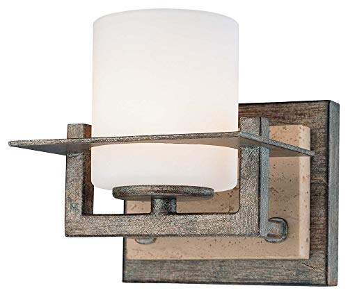 - Minka Lavery Minka 6461-273 Transitional One Light Bath from Compositions Collection in Bronze/Darkfinish Compositons 1 Wall Sconce, Upc-747396072081