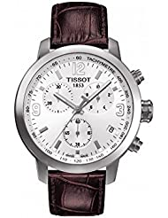Tissot Mens T0554171601701 Analog Display Quartz Brown Watch
