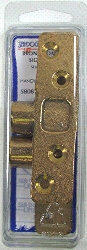 580810 Sea-Dog Line Oarlock Sockets Bronze Pair (2) Side Mount For 1/2