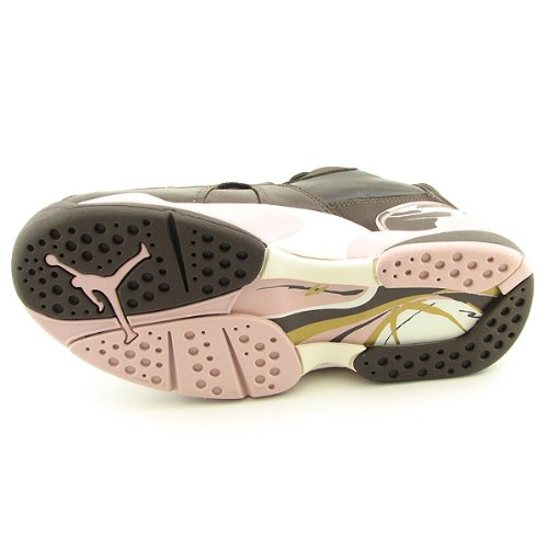 NIKE Air Jordan 8 Retro Low Brown Shoes Womens Size 9