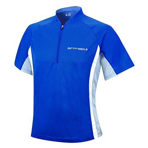 Actif fonctionnel shirt Course running respirant Bleu Funktions Roi atumungs shirt De Airtracks Manches T T Courtes avnvT
