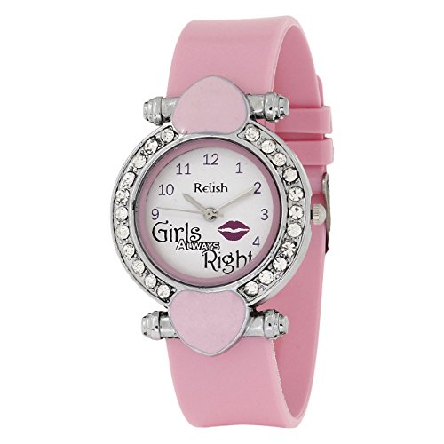 Relish Analog Girls Always Right Dial Women's Watch - L708