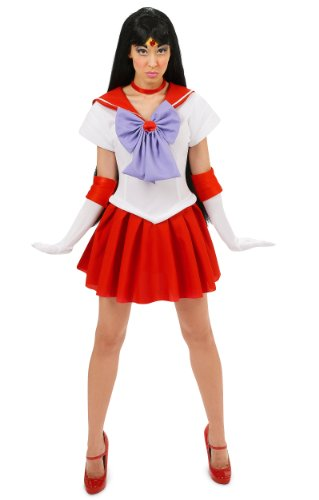 Sailor Moon Sailor Mars Adult Costume Size Small
