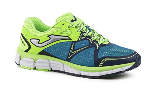 Joma R.super Cross 605 Royal-limon Fluor - Zapatillas para correr Hombre bleu