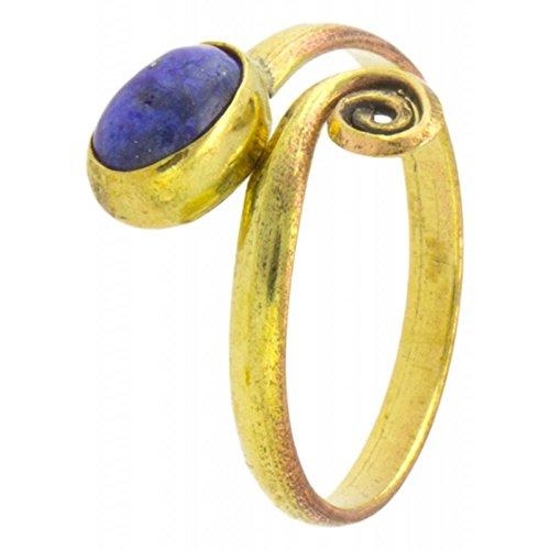 Golden Oval Ring - 7