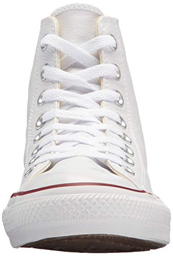 Leather Chaussures Blanc Star Converse All Hi SHnHwAt4