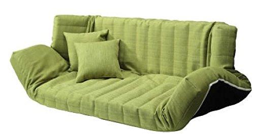低反発マルチリクライニングソファー (グリーン) B0768DYCFZ グリーン グリーン