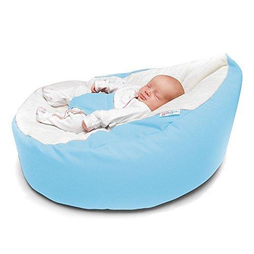 Rucomfy Luxury Cuddle Soft Gaga Baby Bean Bag (Baby Blue)...