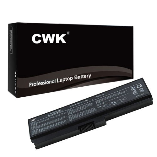 (CWK New Replacement Laptop Notebook Battery for Toshiba PA3634U-1BAS PA3635U-1BAM PA3635U-1BRM PA3636U-1BAL PA3728U-1BR PA3634U-1BRS PABAS116 PABAS228 Toshiba Satellite C645-SP4011L C645-SP4131A )