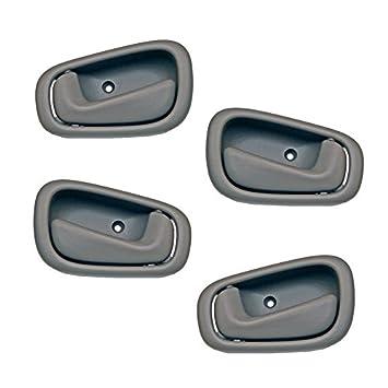 Amazon.com: Motorking Toyota Corolla Gray Replacement Set 4 Inside ...