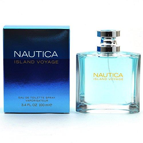 Nautica Island Voyage by Nautica for Men Eau De Toilette Spray 3.4-Ounce -
