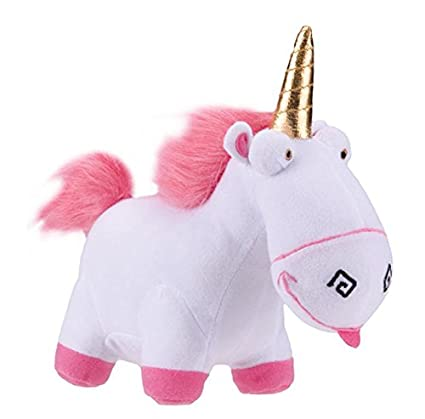 Amazon Com Despicable Me 18 Unicorn Stuff Doll Toys Games