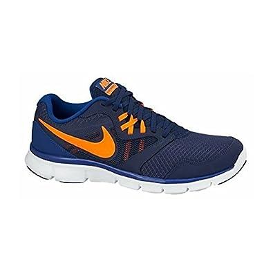 ff225b418a14 ... cheap nike mens flex experience running shoes blue orange white 0dd5b  ac7e1 ...