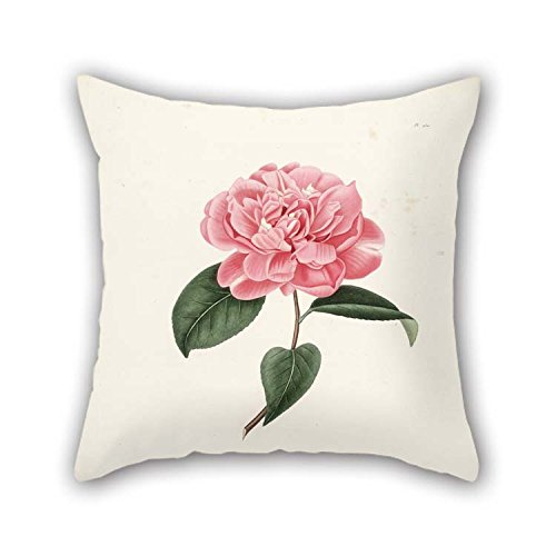 The Flower Pillowcover Of 16 X 16 Inches / 40 By 40 Cm Decoration Gift For Gf Gril Friend Study Room Chair Bedroom Girls (both (Dollar Tree Halloween Masks)