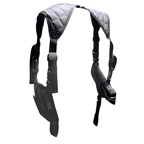 Universal Horizontal Shoulder Holster, Deluxe Airsoft Holsters, Tactical Gun and Bullet Gear (HZC168-E) - Airsoft Holster Gun Shoulder
