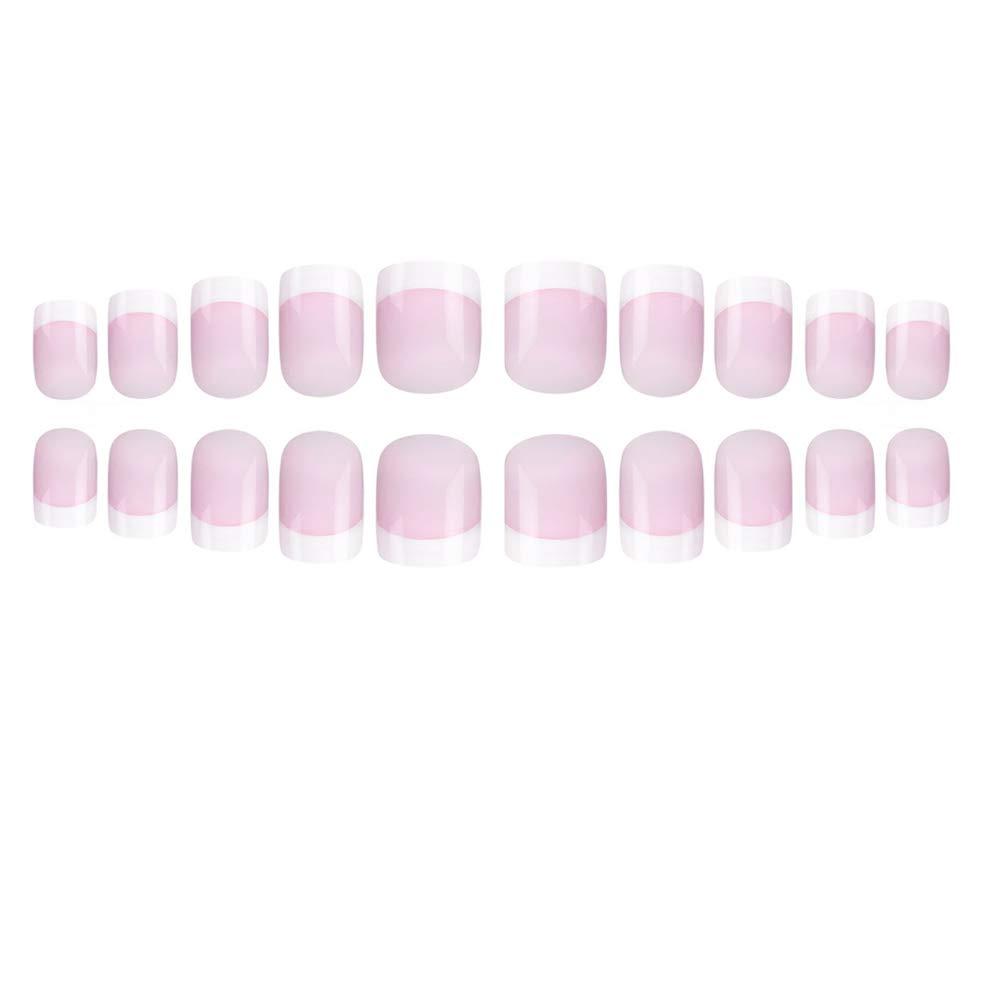 Amazon.com: French Nails - Juego de uñas postizas de ...