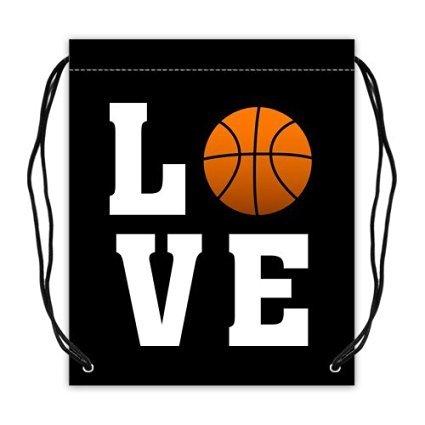 Regalo de Navidad amor baloncesto bolsa de deporte, bolsa de ...