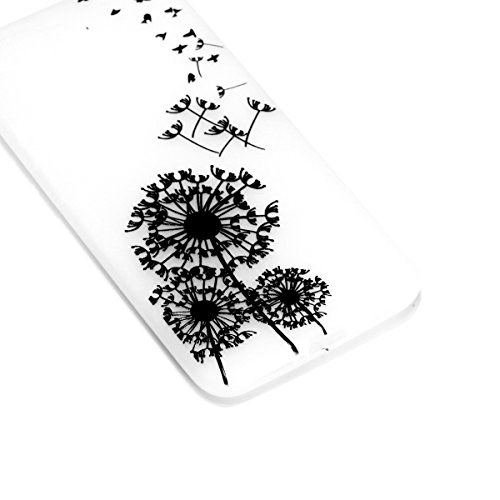 Bumper YOU Honor Series Transparente Etui pour de Luminous Silicone Anti Mince scratch Choc Cover Souple Protection Coque Huawei TPU BONROY Luminous Case Luminous 10 Nuit Ultra Coquille Glow Anti Dream Dandelion LOVE Housse CqFt5w