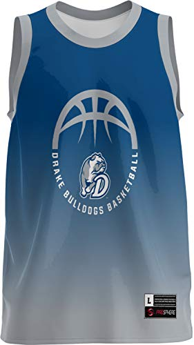 ProSphere Drake University Basketball Men's Basketball Jersey (Ombre) 1002D