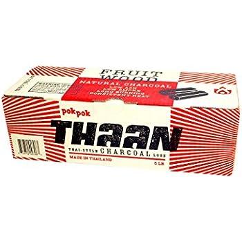 Pok Pok Thaan Thai Style Charcoal Logs, 5 lb