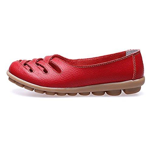 Paris HillEuph039 - zapatilla baja mujer Red