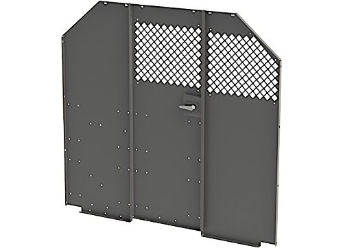Masterrack Steel Partition W/Door - Full Size Vans, Sl-Hm-Pr - 027088KP