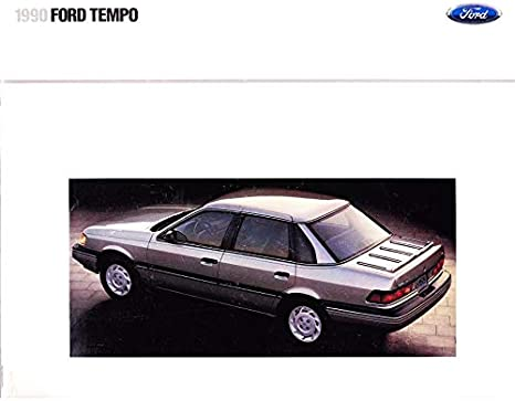 1989 Ford Tempo Sales Brochure