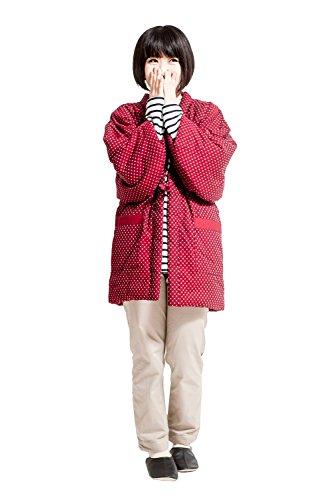 구루메직 한텐 겉옷 레이디스 일본제(MADE IN JAPAN) 여성용 프리 사이즈 기프트 선물 어머니날 경로의 날