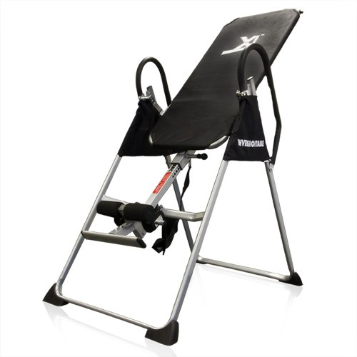 Inversion Table Pro Deluxe Fitness Chiropractic Table Exercise Back  Reflexology ...