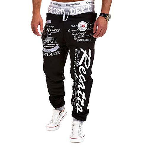Cottory Men's Hiphop Dance Jogger Sweatpants Trousers