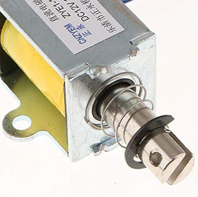 12 V Electromagnet Tipo Push-pull Actuador Solenoide Lineal El/éctrico ZYE1-0630Z Manuales