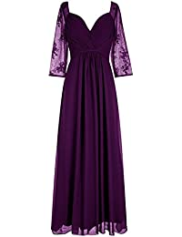 Amazon.com: Purple - Mother of the Bride / Wedding Party: Clothing ...