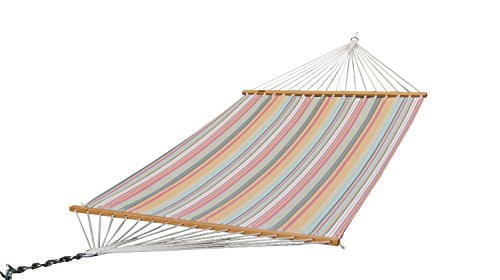 Prime Garden 13 FT Poolside Hammock, Waterproof and UV Resistance, 450 lbs, including a Chain Hanging Kit, Colorful