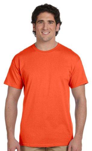 Jerzees mens 5 oz. HiDENSI-T T-Shirt(363)-BURNT (Burnt Orange Jersey)
